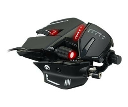 Mad catz r.a.t.8 + - mouse - optical - 11 buttons