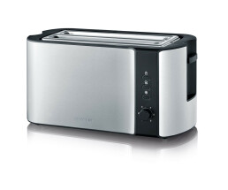 SEVERIN AT 2590 toaster stainless steel brushed-black