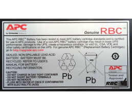APC Replacement Battery Cartridge #43 - Sealed Lead Acid...