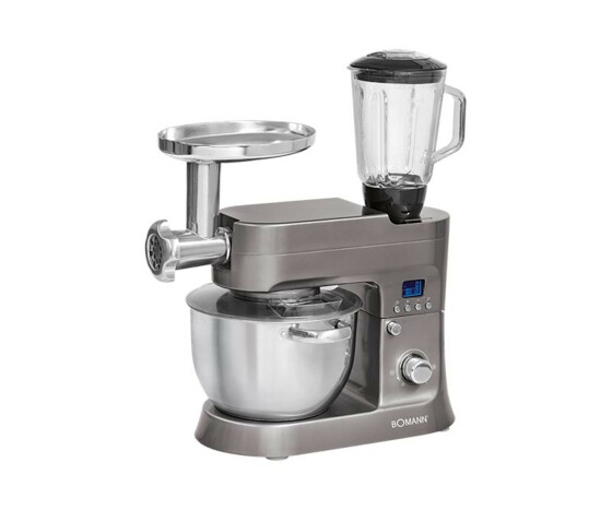Bomann KM 1395 CB - 6.2 L - Stainless steel - Knead,Mixing - Stainless steel - 1200 W - 220 - 240 V