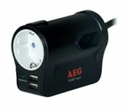 AEG Protect Travel - 3 AC outlet(s) - 230 V - 50 - 60 Hz...