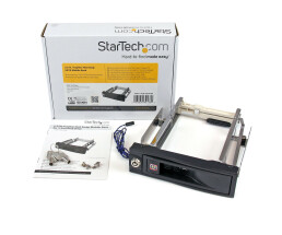 StarTech.com 5.25in Trayless Hot Swap Mobile Rack for...
