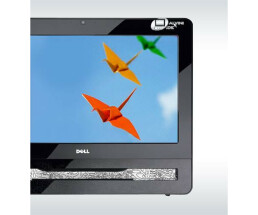 Dell All-In-One Inspiron One 19A 2,2GHz 3GB 320GB DVD+RW Touch-Screen Monitor Neuwertig