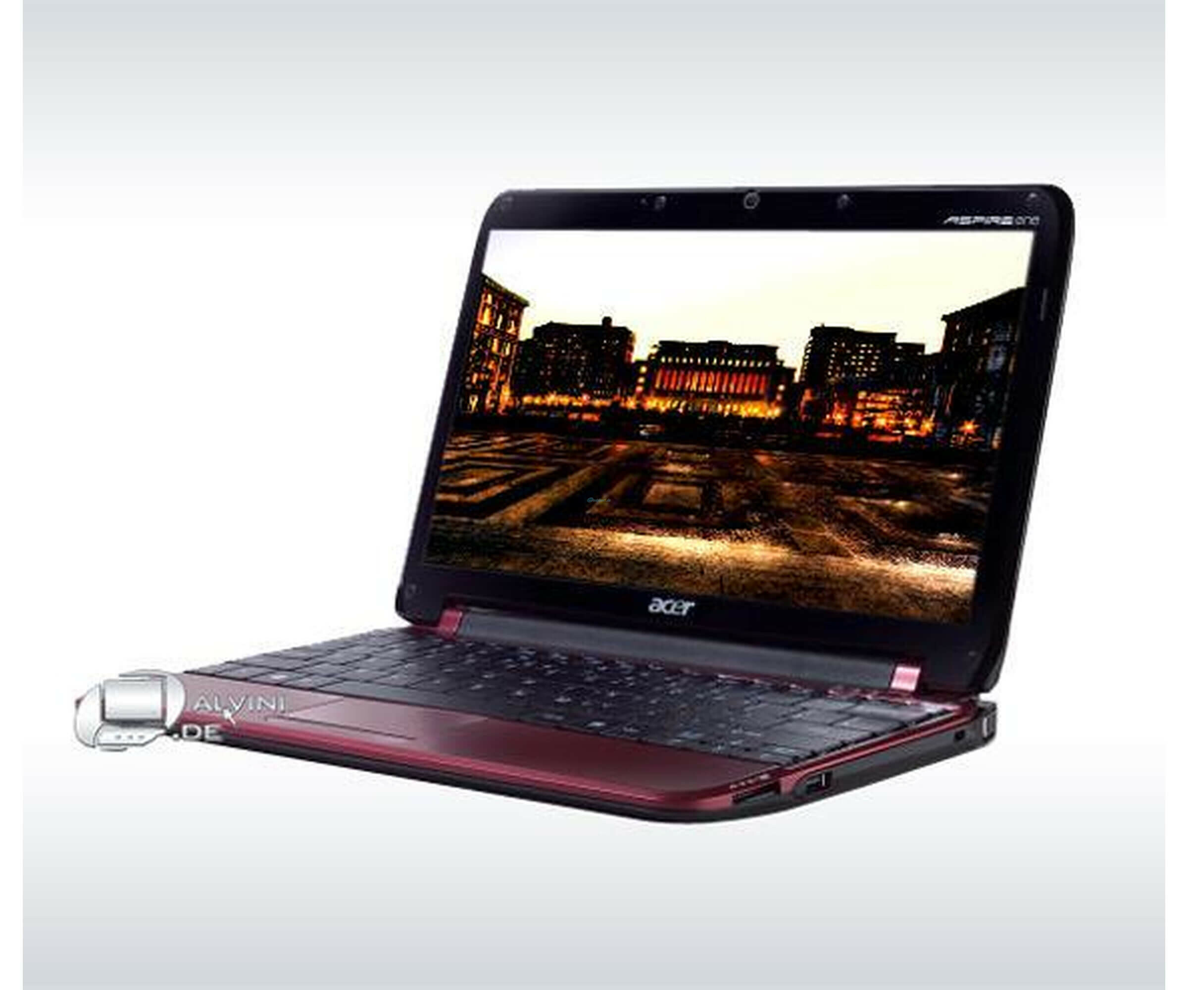 Acer Aspire One D255 25,6cm 10,1 Atom N450 1GB 250GB Rot