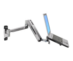 Ergotron LX Sit-Stand Wall Mount LCD Arm - 11.3 kg -...