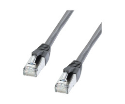Lindy 47211 - 0.5 m - Cat6 - S/FTP (S-STP) - RJ-45 - RJ-45 - Anthracite