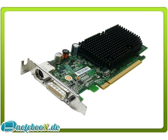 ATI Radeon X1300 - 256 MB - PCIe - DMS-59 - S-Video - Low Profile - Gebraucht