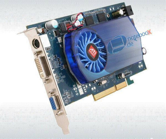 ATI RADEON HD3650 HD 3650 - Grafikadapter PCIe - 512 MB DDR2 - DVI - TV Out - Gebraucht