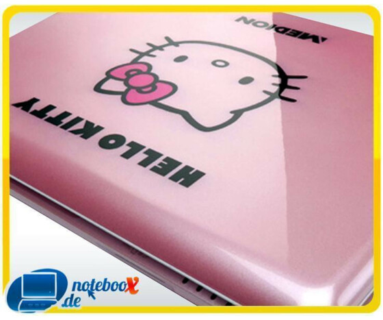Medion Akoya Mini S1213 Hello Kitty 25,4 cm 10 Netbook Intel Atom N270 1,6GHz, 1GB RAM, 160GB HDD Pink