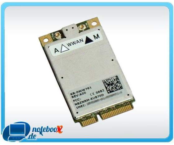 Dell Wireless 5520 Mobile Broadband - Mobilmodem - PCI Mini Card - EDGE, HSDPA - Gebraucht