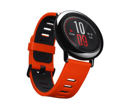Amazfit Pace - Smart Clock with Straps - Red - Display...