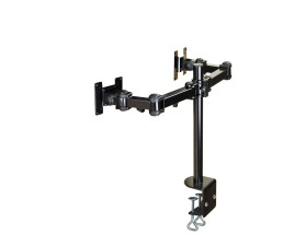 NewStar Full Motion Dual Desk Mount (clamp) FPMA-D960D -...