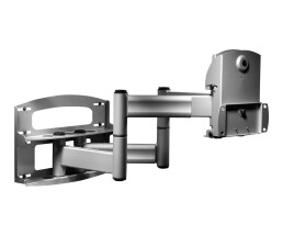 Peerless Full-Motion Plus Wall Mount With Vertical...