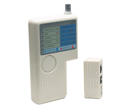 Intellinet 4-in-1 Cable Tester - RJ-11 - RJ-45 - USB and...