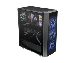 Thermaltake Versa J24 - Tempered Glass RGB Edition - Midi...