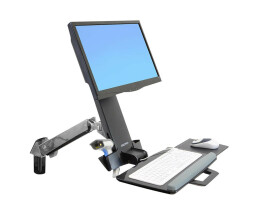 Ergotron StyleView Sit-Stand Combo Arm - 13.2 kg - 61 cm...
