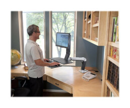 Ergotron WorkFit-A LCD HD with Worksurface+ Standing Desk...
