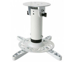 Techly ICA-PM-200WH - Ceiling - 15 kg - White - 360°...