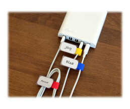 LTC Mini Tags - Wire / Cable Markers - 9cm - Blue,...