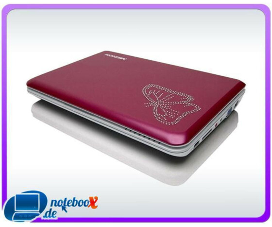 Medion Akoya Mini S1210 25,4 cm 10 Netbook Intel Atom N270 1,6GHz, 1GB RAM, 160GB HDD Pink