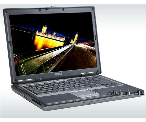 Notebook Dell Latitude D620 Centrino Duo 1,83GHz 2GB DDR2 Ram 120GB Festplatte DVD-RW Windows XP CoA Gebraucht