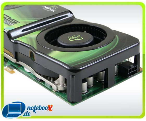 XFX GeForce 8800GTS Alpha Dog Edition - Grafikadapter - GF 8800 GTS PCIE - 512 MB - Gebraucht