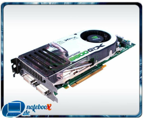 XFX GeForce 8800 GTX - Grafikadapter - PCI Express x16 - 768 MB GDDR3 - DVI - Gebraucht