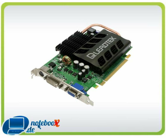 Leadtek WinFast PX7600 GS TDH Heatpipe, GeForce 7600 GT, 256MB GDDR3, DVI, TV-out, PCIe - Gebraucht