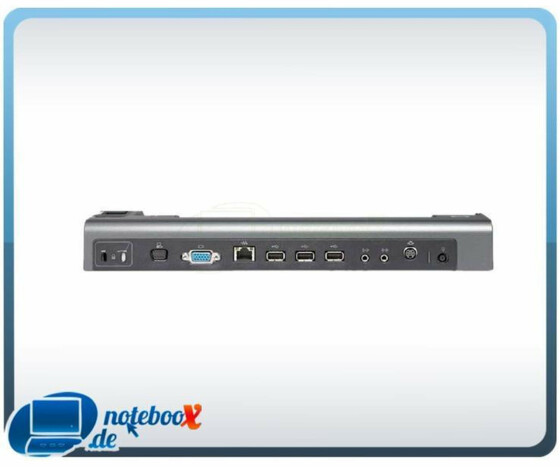 HP Docking Station Dock HSTNN-Q03x EQ773AA USB VGA 2400/2500 Serie - Gebraucht