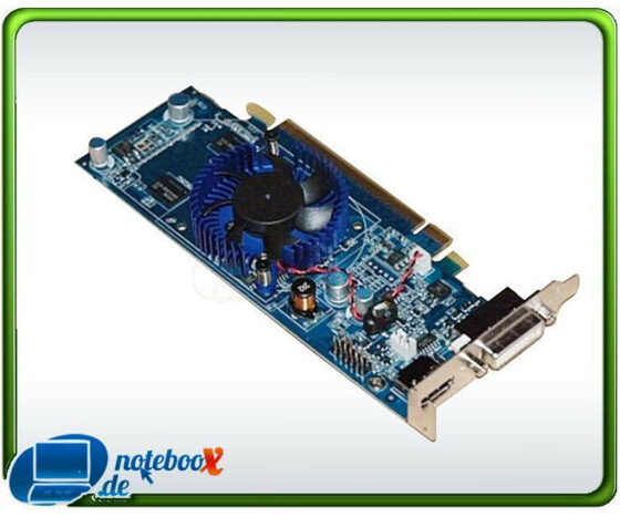 NVIDIA GeForce G100 - 512MB DDR2 DVI HDMI - LowProfile Grafikadapter - 2560x1600 PCI-E 16x - Gebraucht