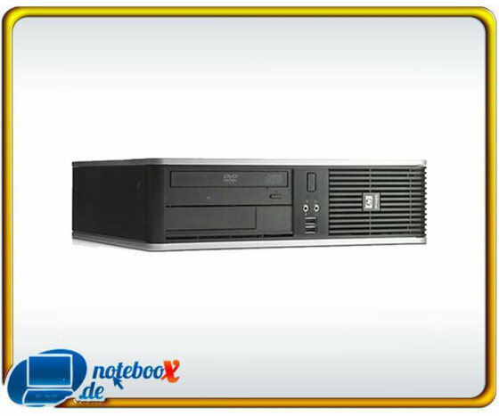 HP Compaq DC7900 SFF - C2D E8400 2 x 3,0GHz  2GB - 80GB HDD - DVD - Vista Business - Gebraucht