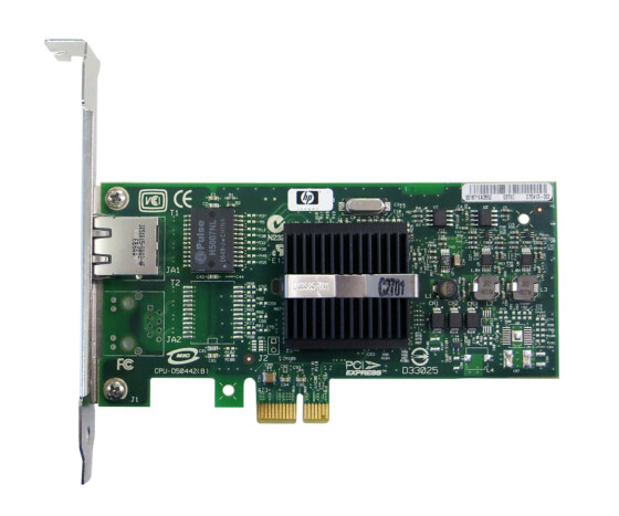 HP NC110T PCI Express Gigabit Server Adapter - Netzwerkkarte - 434982-001 - 434903-001