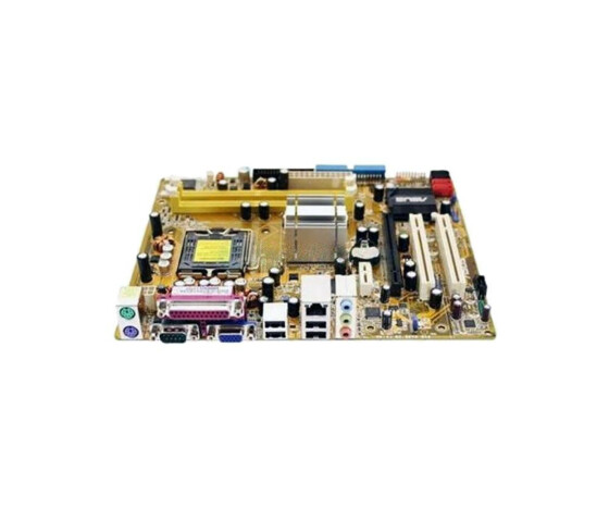 ASUS P5L-MX - Hauptplatine - Mainboard - ATX - i945P - LGA775 Socket - UDMA100, Serial ATA-300 - Gigabit Ethernet - FireWire - High Definition Audio (6-Kanal) - Gebraucht