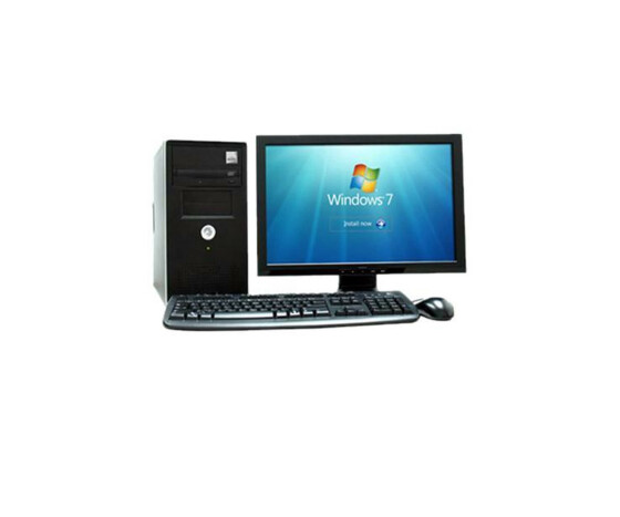Windows 7 complete system - computer + monitor, keyboard and mouse - TOP MODEL!
