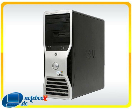 Dell Precision T3400 Tower - C2D E6850 3,0GHz - 4GB Ram - 160GB HDD - XP COA - Gebraucht