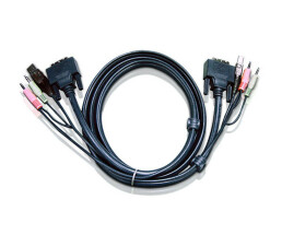 ATEN 2L-7D03UI - Video / USB / Audio cable - USB, stereo...