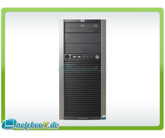 HP ProLiant ML310 G4 - Tower - Dual-Core Xeon 3050 / 2.13 GHz - 2 GB - SATA 72 GB - Gebraucht