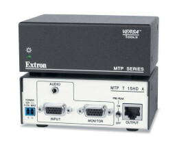 Extron - Twisted Pair Transmitter for VGA and Audio with EDID Minder - MTP T 15HD A