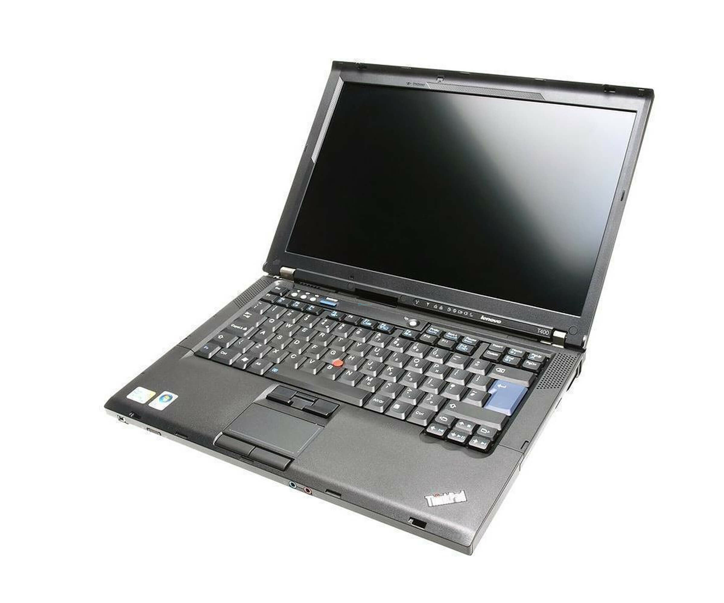 Lenovo ThinkPad T400 - C2D 2,53 GHz - RAM 2 GB - 160 GB HDD - DVDRW - Windows Vista - Tastatur: Englisch