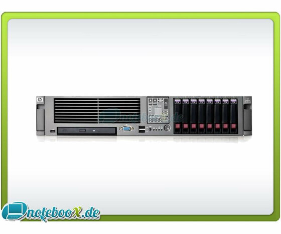 HP ProLiant DL380 G5 - Rack - 2 x E5345 / 2.33GHz - RAM 64 GB - 3x 72GB SAS - Used