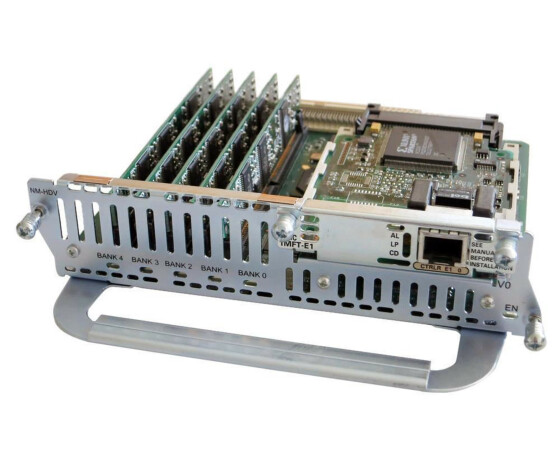 Cisco NM-HDV-1E1-30E - High Density Voice Network Module mit VWIC-1MFT-E1