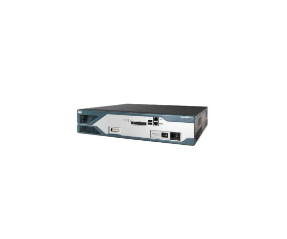 Cisco 2821 - DSL Router - IOS Advanced IP services - 2U - Gebraucht