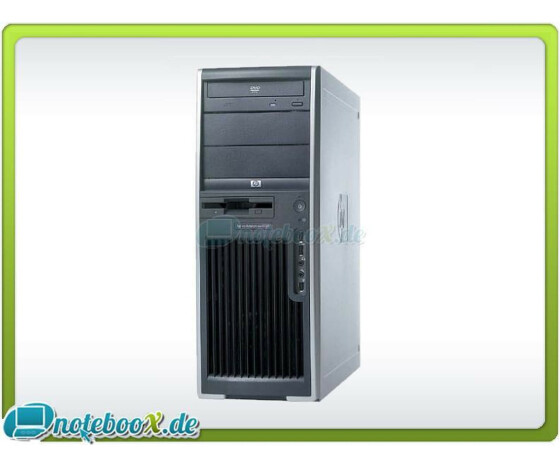 HP Workstation xw4200 - Intel P4 3,6 GHz - 2 GB DDR2 - 160GB HDD - DVDRW - Gebraucht