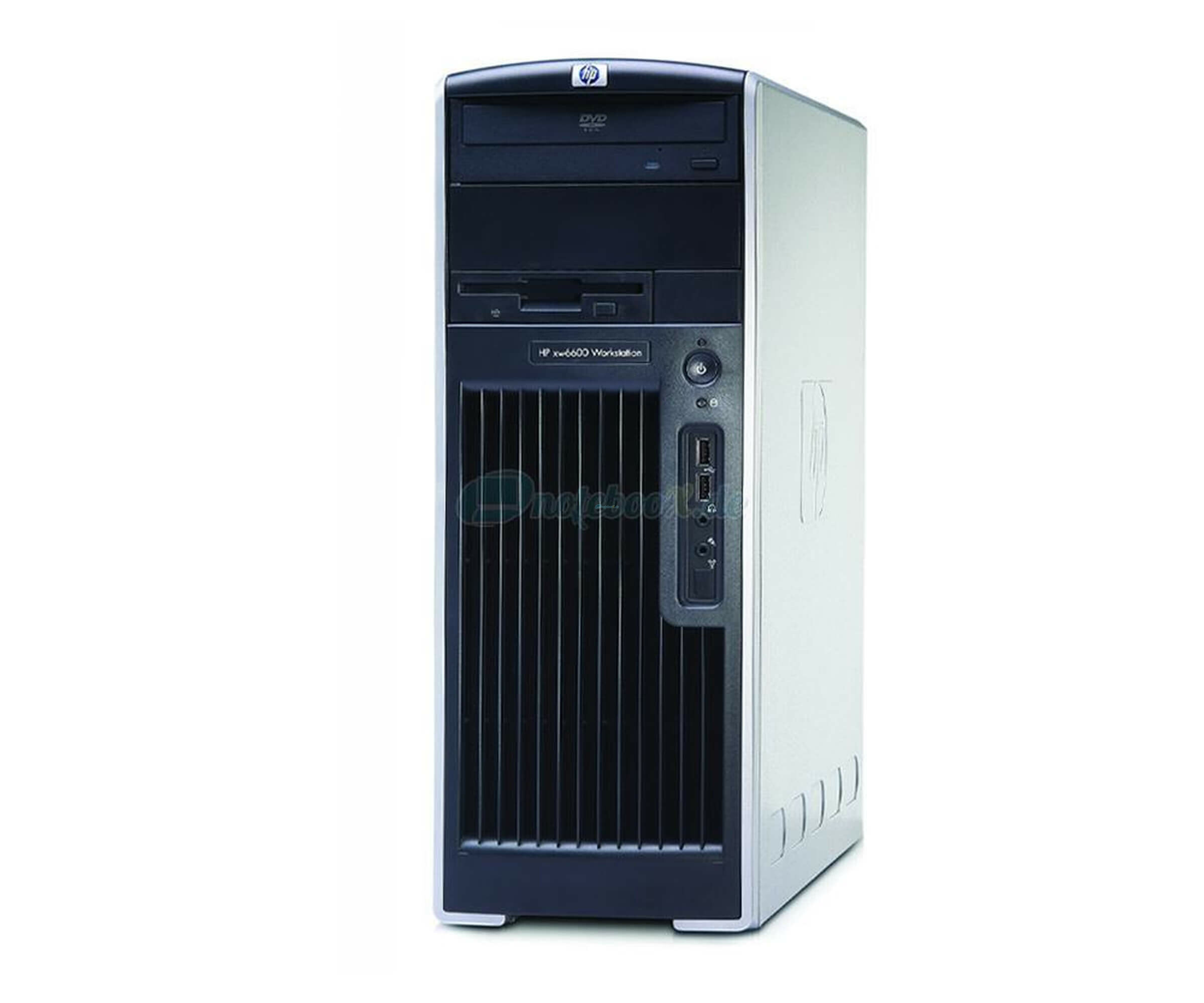 HP Workstation xw6600 - Vista - 8x C2D 2.33 GhZ - 6GB RAM - 160GB HDD - DVDRW - Used