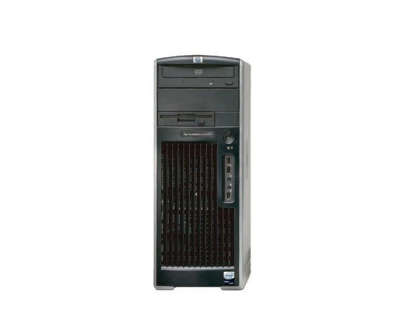 HP xw6200 Workstation - XP - 2 x Intel P4 3.40 GhZ - 2GB RAM - 160GB HDD - DVDRW - Used
