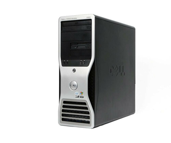 Dell Precision 390 Tower - C2D 6400 2,13GHz - 2GB Ram - 80GB HDD - DVD - XP - Gebraucht