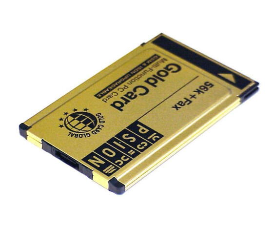 Psion Gold Card - Fax / Modem - Plug-In-Modul - PC Card - 56 Kbps - V.90