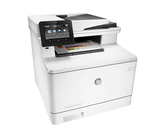 HP Color LaserJet Pro MFP M477fdn Laser / Led Fax - Colored - 27 ppm - USB 2.0 RJ-45