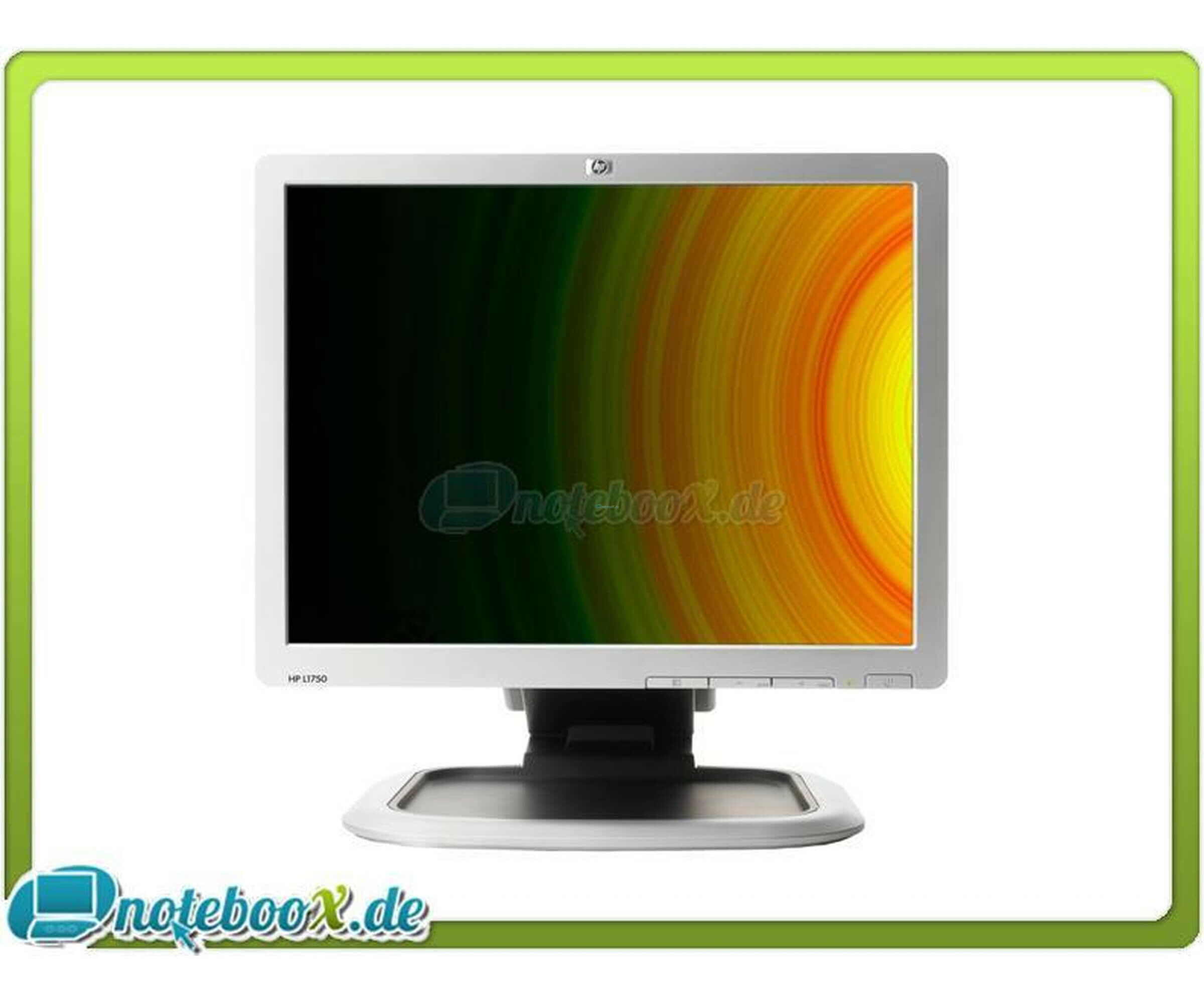 HP L1750 - 800:1 - 5 ms - LCD Monitor - 17 - 1280 x 1024-300 cd/m2 - DVI-D, VGA - Used