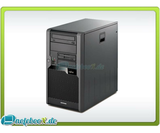 Fujitsu Siemens ESPRIMO P5731 - C2D - 3,0GHz - 4GB DDR3 - 80GB HDD - DVD - Windows 7 - Gebraucht